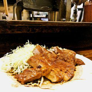 肉生姜定食(こづち)