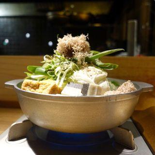 黒毛和牛ホルモンの京風味噌なべ 赤鍋(京家 KARASUMA (キョウヤ カラスマ))