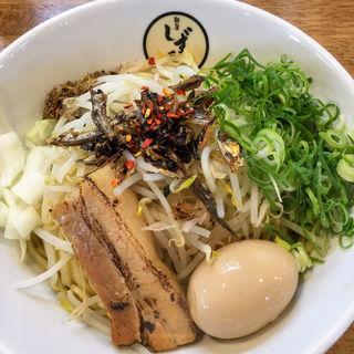 煮干し油そば(麺屋しずる 豊川店 )