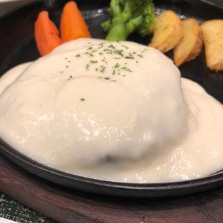 氷温熟成牛入りハンバーグセット(お肉の専門店 スギモト 東京ミッドタウン店 )