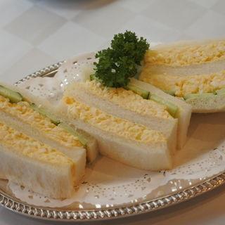 タマゴサンド(イノダコーヒ 本店)