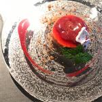 イチゴのアイスクリーム ランチコース(レストラン ルアイ)