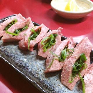 ネギ塩タン(焼肉 たつみ )