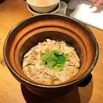 土鍋ごはん(鶏ごぼう)