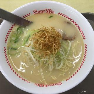 豚骨鶏白湯ラーメン(スガキヤ 堅田イズミヤ店 )