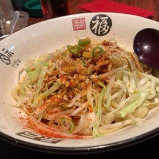 ペペロンチーノ風刀削麺