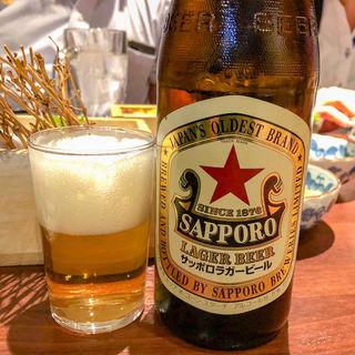 サッポロラガービール(北海道海鮮・離れ情緒~ 西5東3~ 新宿東口店)