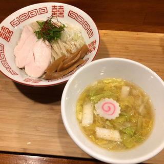 鶏と白菜の塩つけ麺(がふうあん )