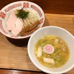 鶏と白菜の塩つけ麺