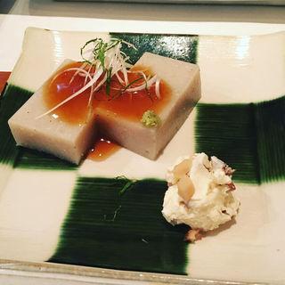 蕎麦豆腐(手打ちそば 尾沼)