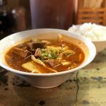牛肉スープ麺(激辛)