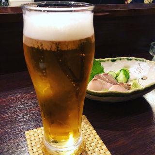 生ビール(一杯呑み屋 スマイル)