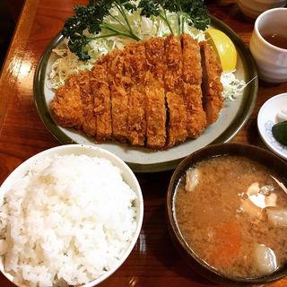 大とんかつロース定食(丸一 (まるいち))