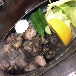 地鶏炭火塩焼き(魚山亭 渋谷店 (ぎょっさんてい))