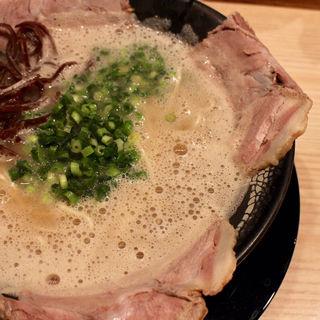 チャーシューメン(博多 一幸舎 札幌すすきの店)