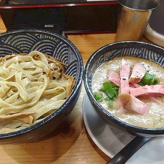 濃厚ホワホワ白湯つけ麺(極麺 青二犀 (ゴクメン アオニサイ))