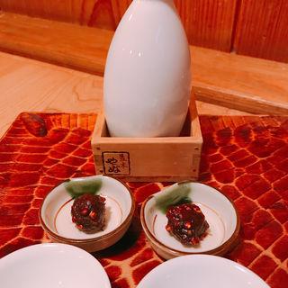 日本酒(蕎麦味噌付き)(並木藪蕎麦)