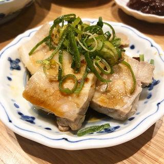 蒸し豚(餃子ノ酒場いちゃん)