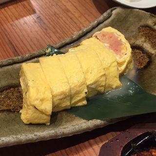 明太子出汁巻き(博多もつ鍋 やまや 京橋エドグラン店)