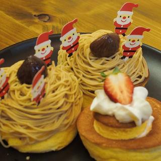 3周年スペシャルパンケーキ(かき氷研究所)