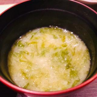 お味噌汁(魚と野菜 つじ田 )