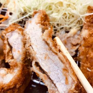 特別ロースとんかつ定食(とんかつ豚晴 本店 (とんかつとんはる))