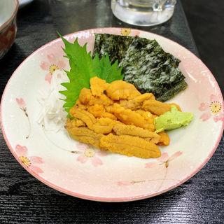 生うに(大衆割烹 藤八 (たいしゅうかっぽうとうはち))