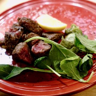 炭焼きヒウチのランチ(肉料理 炭焼き肉バル RODEO 梅田店)
