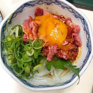 タンユッケ(焼肉jb)