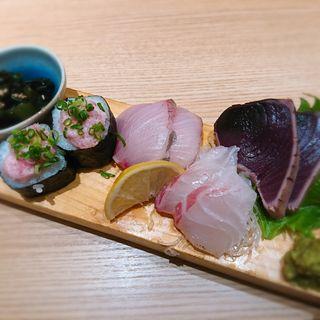 お造り3種盛合せ(海鮮和食魚盛)