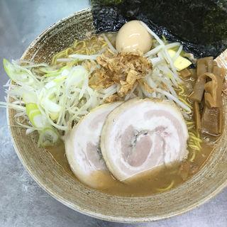 限定 アトランティックサーモン味噌(覆麺 智 (ふくめん とも【旧店名】覆麺))