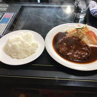 ハンバーグ定食(マロン )