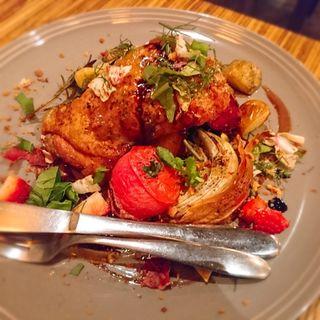 若鶏もも肉のオーブン焼き(cafeunji)