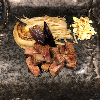 フィレステーキコース(鉄板焼 リオ)