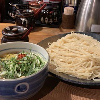 鶏と柚子の塩つけ麺(つけ麺本丸 栄店 )