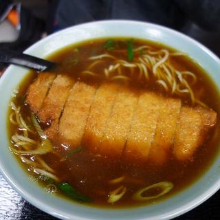 カツカレー蕎麦(みすゞ庵)