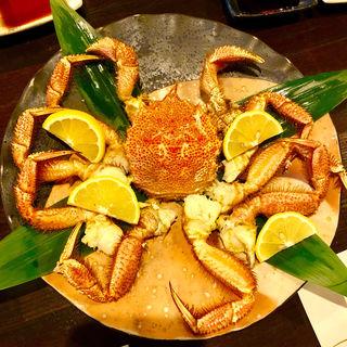 焼き毛ガニ(旬味旬菜 大和)