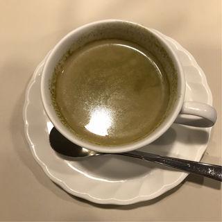 黒蜜抹茶ミルク(喫茶室ルノアール 新宿西口駅前店 )