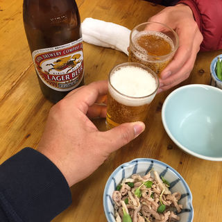 瓶ビール(宝雲亭 (ほううんてい))