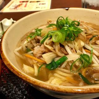 野菜そば(沖縄料理 あだん)