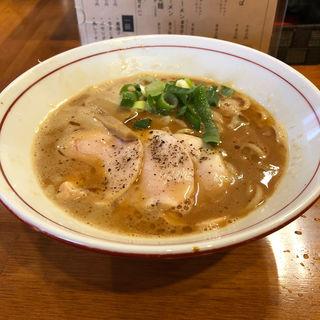 濃厚鶏魚介中華そば(醤油と貝と麺 そして人と夢 )