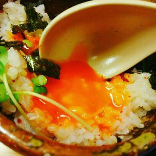 白トリュフ香る卵かけご飯(焼肉たまき )
