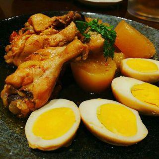 手羽元と大根の煮物ピリ辛風(Grill & Kitchen かぼちゃの馬車 (かぼちゃのばしゃ))