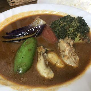 カキと野菜カレー(スープカレー カムイ )