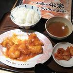 海老チリ定食