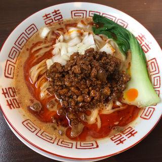魚介担々麺(スープ有)(晴耕雨読)