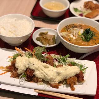 日替わり(タルタル棒棒鶏+担々麺)(中国酒家 朝陽閣 長堀店 (チョウヨウカク))
