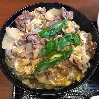 仙台牛A4牛とじ丼(京うどん纏)