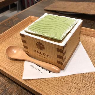 茶房パフェミニ(ランチセット)(サロン ギンザ サボウ (SALON GINZA SABOU))