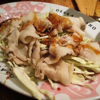 豚しゃぶサラダ(大阪王将 川崎駅東口店)